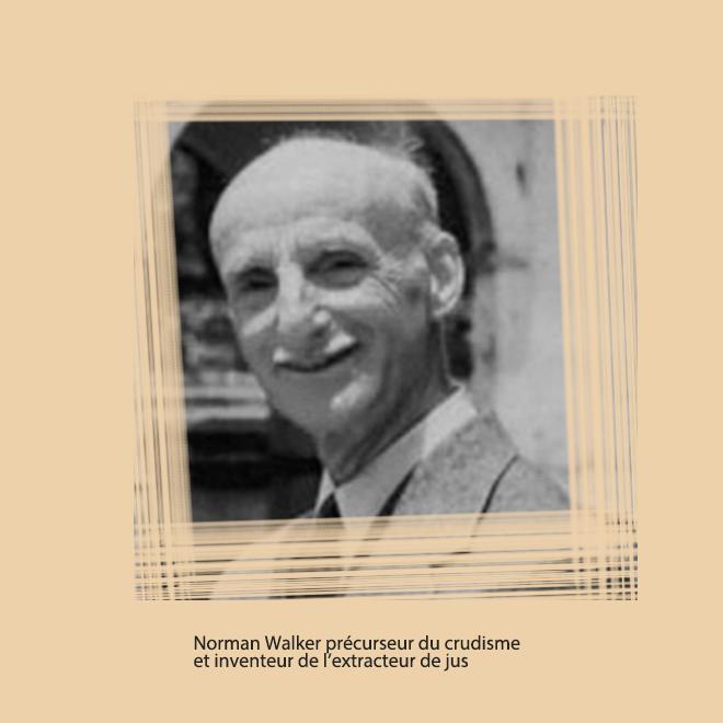 Norman Walker, Pionnier dans le domaine de l'alimentation végétarienne